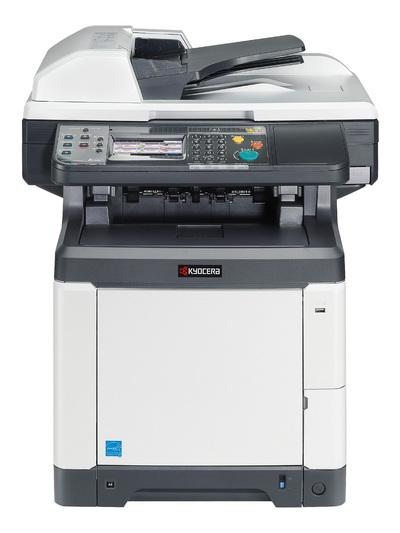 Impresora Kyocera laser color Tecnycopia Foto frontal