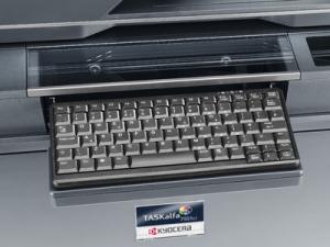 Impresora Kyocera laser color TASKalfa 6551ci Tecnycopia Detalle teclado