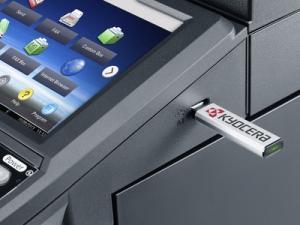 Impresora Kyocera laser blanco y negro TASKalfa 3010i Modem usb
