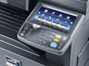 impresora Kyocera laser TASKalfa 3510i A3 pantalla táctil Tecnycopia