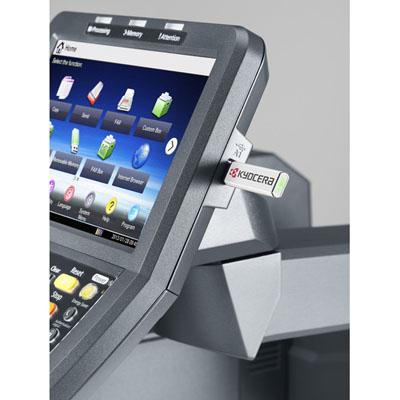 Impresora Kyocera laser TASKalfa 6501i Modem USB