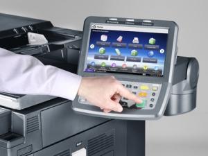 Impresora Kyocera laser TASKalfa 8001i pantalla táctil
