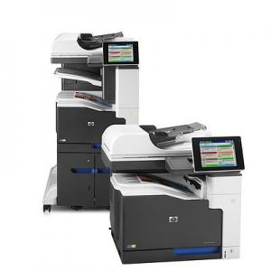 Impresora multifunción HP láser color M775 Foto 3