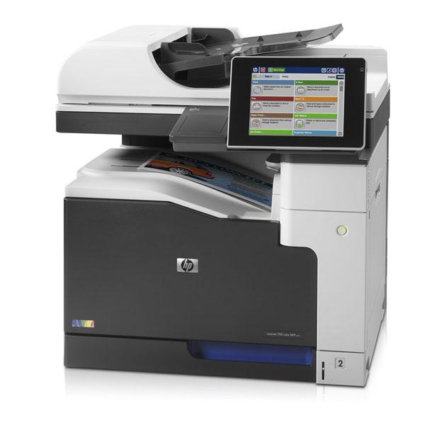 Impresora multifunción HP láser color M775