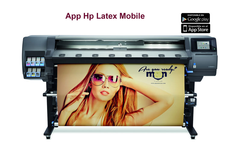 App HP Latex Mobile