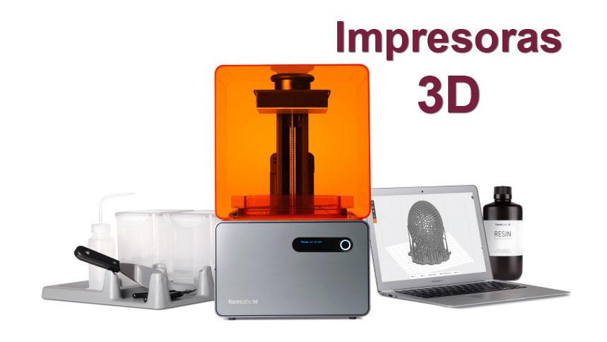 impresoras 3D Tecnycopia Sevilla Formlabs